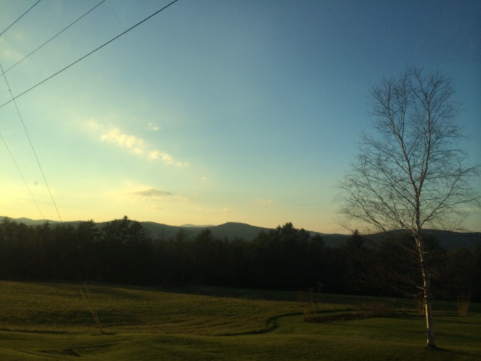 Looking out towards Vermont. Photo by Colleen Ann.