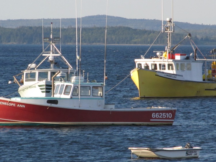 Lobsterboats. Photo By Colleen Ann.