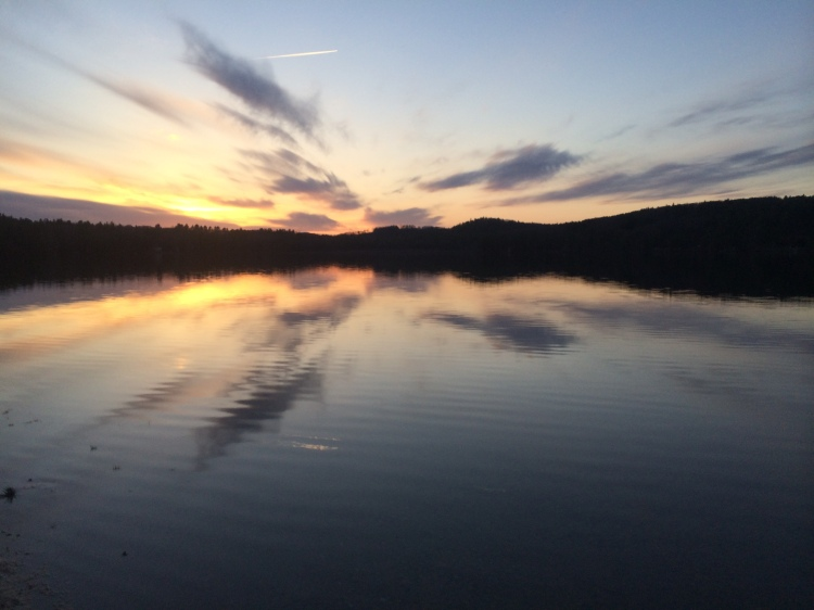 Sunset on the lake. Photo by Colleen Ann.