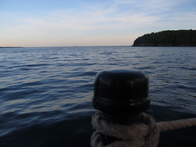 Looking out towards my destination, Photo By Colleen Ann.