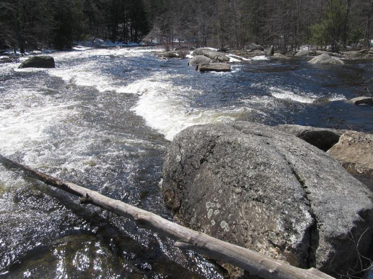 Downstream. Photo By Colleen Ann.