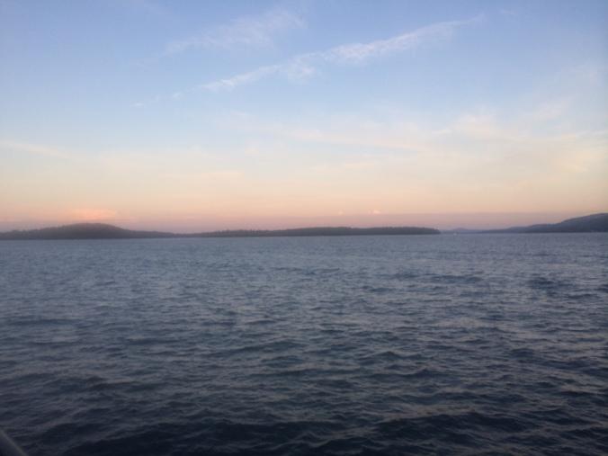 Restless Lake. Lake Winnipesaukee. Photo By Colleen Ann.