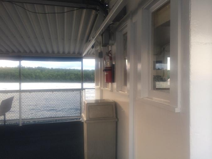 Interior of The Boat. Lake Winnipesaukee. Photo By Colleen Ann.