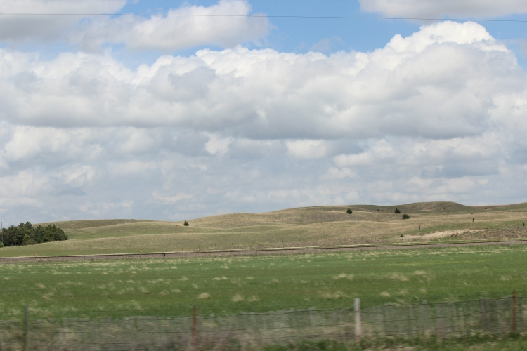 Rolling Hill. Nebraska. Photo By Colleen Ann.